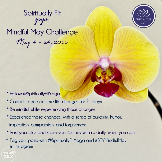 Spiritually Fit Yoga Mindful May Challenge 2015