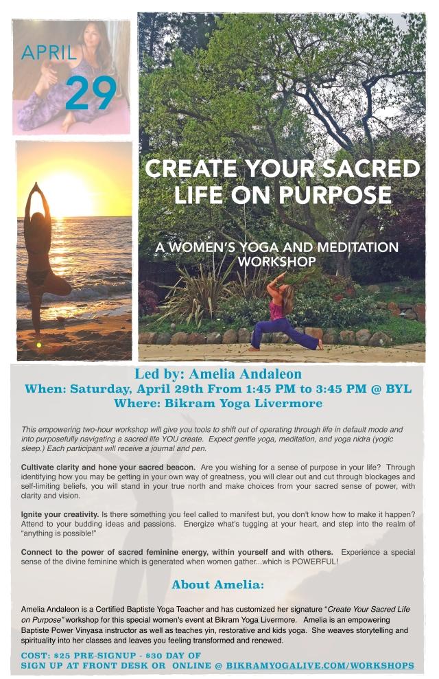 Sacred Workshop